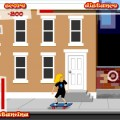 Уличный скейтер